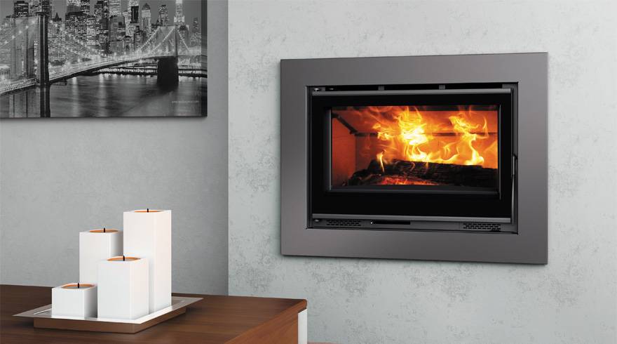 Chimeneas aral carbel fireplace insert plus for Chimenea de pellets insertables
