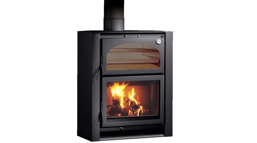 Carbel chimeneas y estufas de le a estufa con horno xlr - Estufas y hornos de lena ...