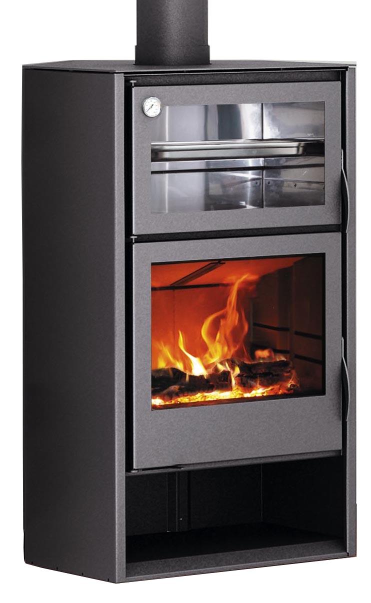 Carbel chimeneas y estufas de le a estufas con horno - Chimeneas para hornos de lena ...
